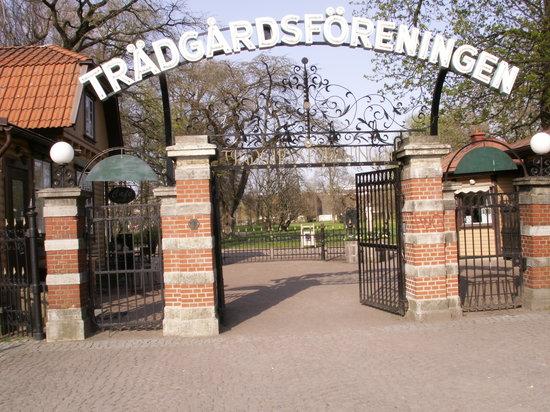 Horticultural Gardens (Tradgardsforeningen): Eingang