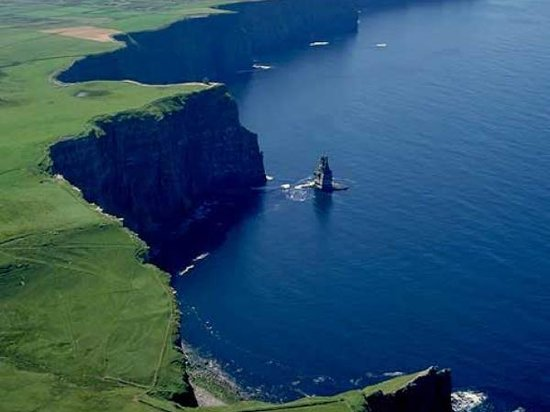 Failte Tours: Aerial View Cliffs of Moher