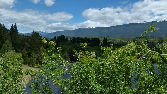 Cabanas Cerro Amigo: View from the bedroom