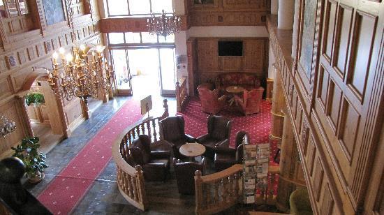 Mercure Sighisoara Binderbubi Hotel and Spa: Lobby
