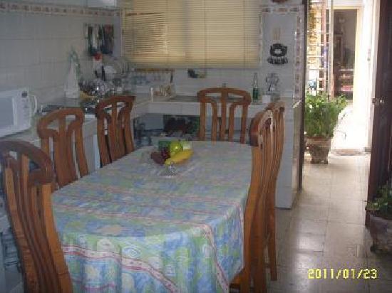 Casa particular Jorge y Mirtha: Esszimmer im apartment