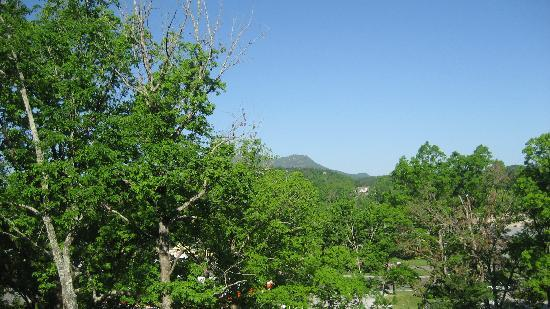 Rocky Top Condos: View from Cabin