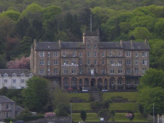 The Glenburn Hotel Ltd: hotel from ferry1