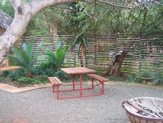 Garden at Acasia Guest Lodge