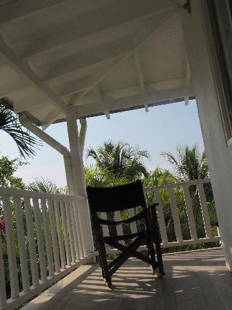 Hotel Horizontes de Montezuma: Balcony, chill in a hammock