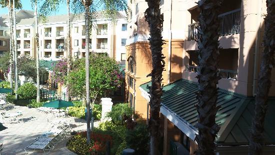 Courtyard Orlando Lake Buena Vista in the Marriott Village : Balcony view 2