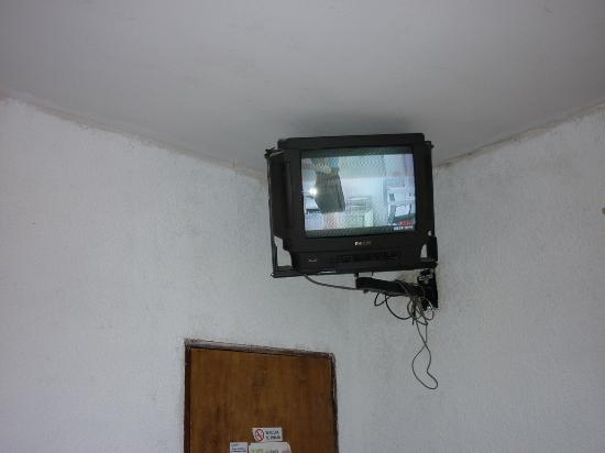 Hotel Ushuaia: La tv...