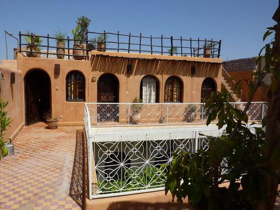 Riad Dar Tayib: roof terrace