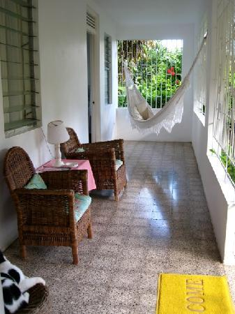 Search-Me-Heart: The veranda and hammock
