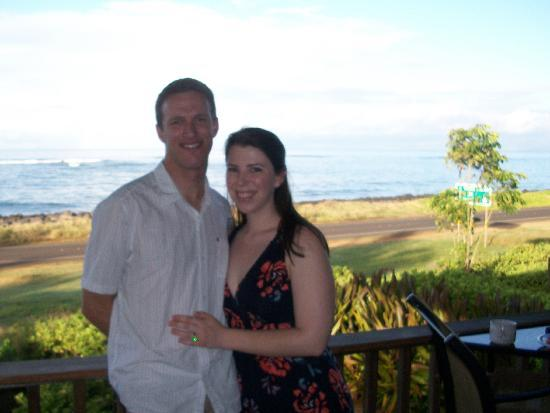 Hale Puka 'Ana: after eating a wonderful breakfast by jules on the lanai