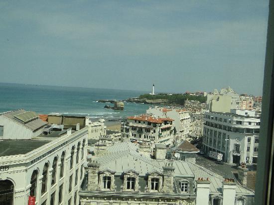 Mercure Le President Biarritz Centre: la vue
