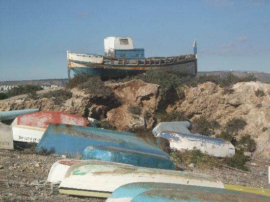 Boats near the harbour area bild fr n isla de tabarca alicante provinsen tripadvisor - Casa en tabarca ...