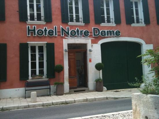 Hotel Notre Dame : bienvenue !