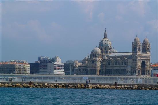 Marsiglia, Francia: Kathedrale vom Schiff aus gesehen