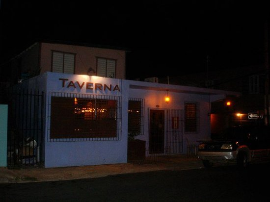It doesn't look like much from the outside, but the food at Taverna was both good and reasonably