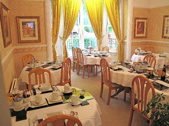 The Old Rectory at Broseley: Dining room