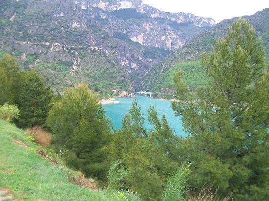 Ciela Village Camping International : lac de sainte croix