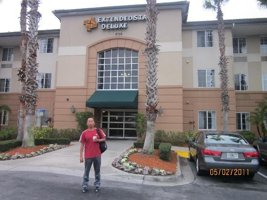 Extended Stay America - Orlando - Convention Center - Universal Blvd: Entrada do hotel