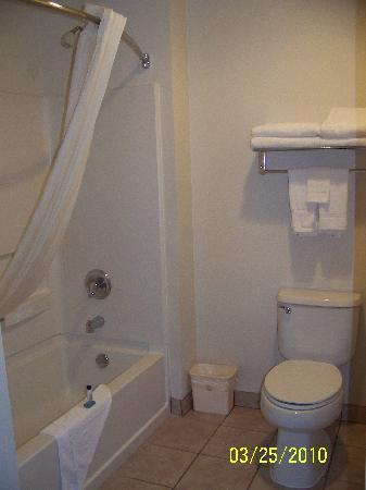 Best Western Americana: Bathroom