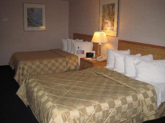 Comfort Inn Pickering: The Beds
