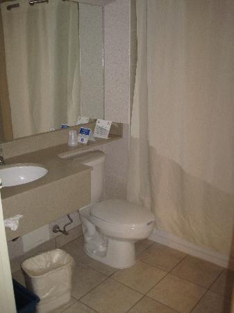 Comfort Inn Pickering: The Bathroom