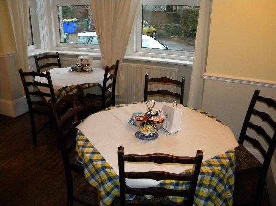 Castle Lodge: The breakfast room