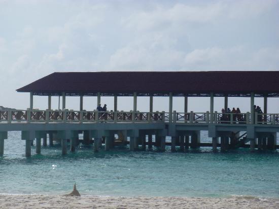 a jetty of redang mutiara beach resort