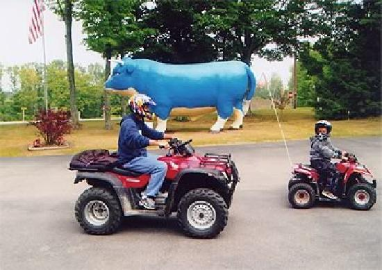 Maple Heights Campground: ATV fun