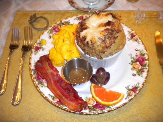 Central Park Bed and Breakfast: Breakfast
