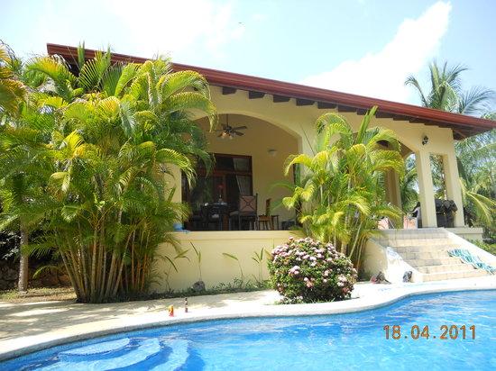 Villa Oasis: terraza
