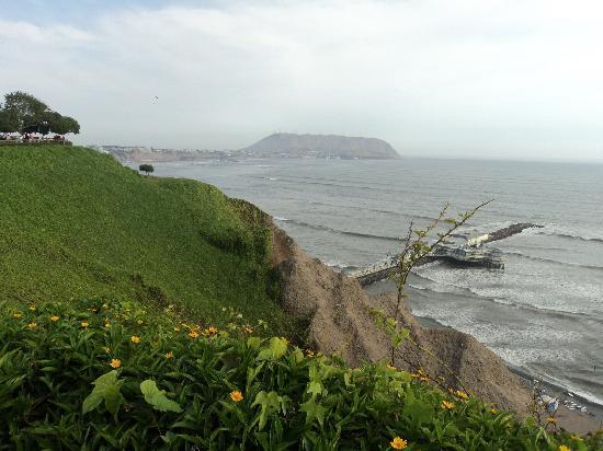 Lima, Pérou : Miraflores - Flores, muitas flores