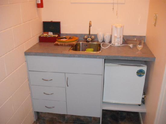 Doubtless Bay Lodge: Kitchenette