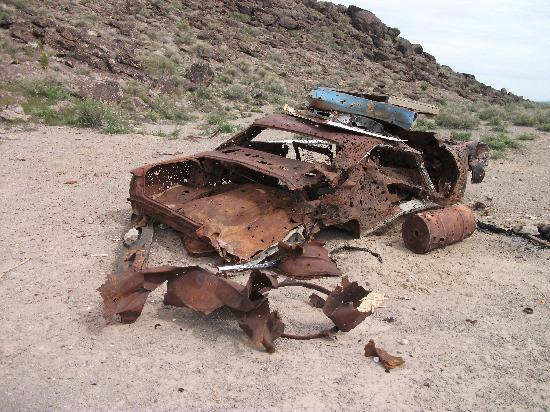 Rachel, NV: 2011 Mustang...before that damned UFO came along !