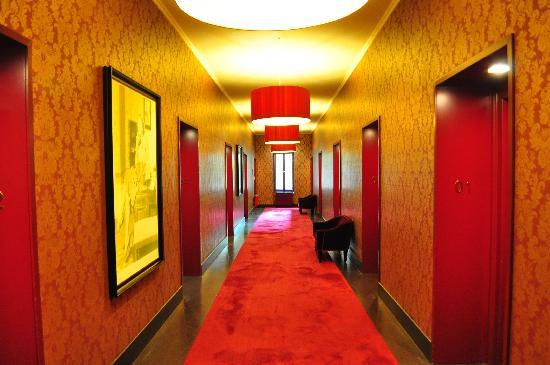 Hotel Altstadt Vienna: stunning hallway to the design rooms