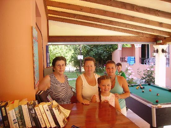 Varvara Apartments: JASMIN, MAID, MYSELF AND DAUGHTER!