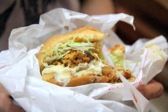 MOS Burger : Saku Saku Chicken Burger
