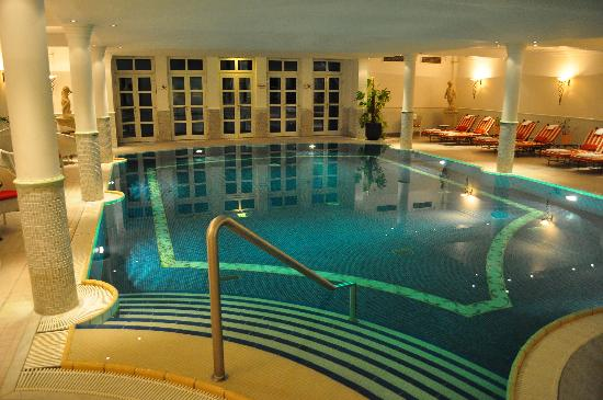 Patrick Hellmann Schlosshotel: grand indoor pool