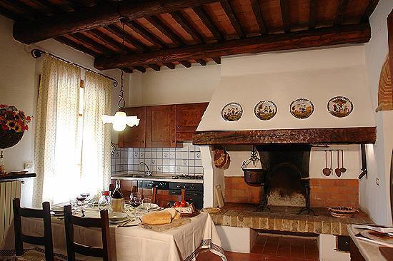 Pie di Costa: Kitchen apartment Girasole
