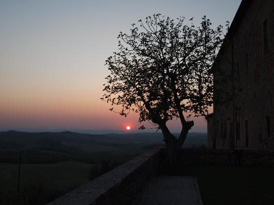 Agriturismo Sant'Anna in Camprena: Magical time in Sant Anna