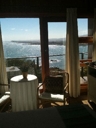 Gordon's Bay, África do Sul: Beautiful view from room