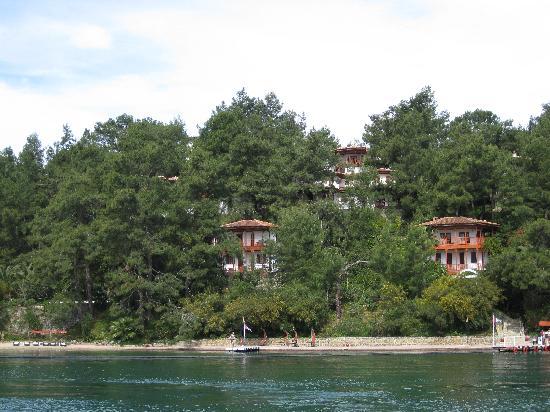 Letoonia Club & Hotel: Vue des bungalows