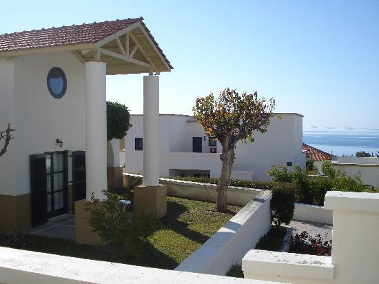 Mitsis Rodos Maris Resort & Spa: Bungalows next to the hotel