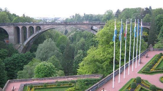 Luxembourg City, Luxembourg: From one of the many vantage points