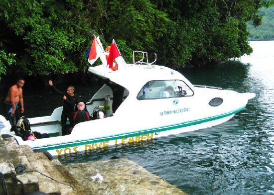DABIRAHE Dive, Spa and Leisure Resort (Lembeh): smaller dive boat