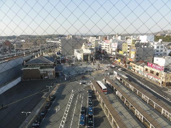 Super Hotel Lohas JR Nara-eki: 部屋からの眺めです。