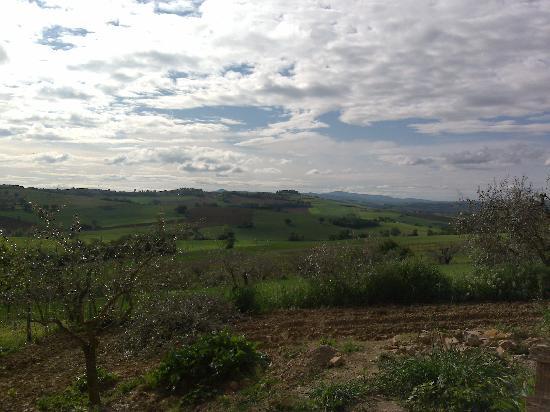 Castiglione del Lago, อิตาลี: panorama sulla campagna umbra