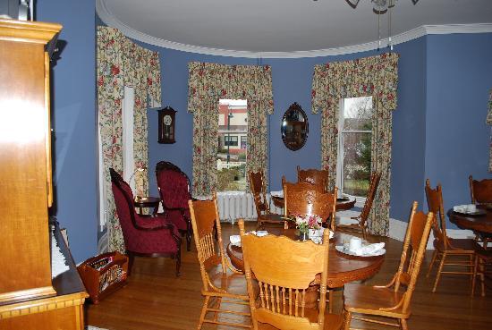 Antigonish Victorian Inn: Dining room