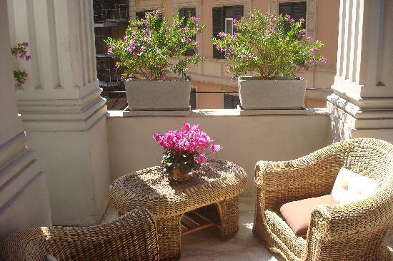 Hotel Le Petit: Terrace room