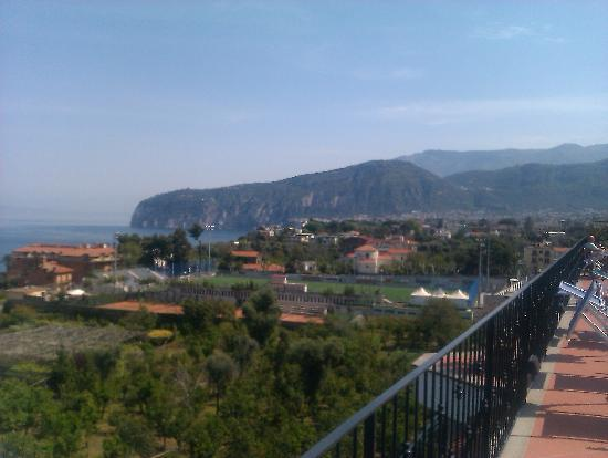 Grand Hotel De La Ville Sorrento: View from the roof