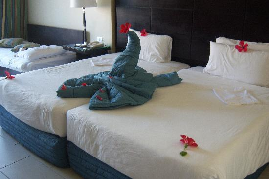 Reef Oasis Blue Bay Resort: Deluxe Room 3214
